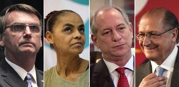 Para analistas, Bolsonaro, Marina, Ciro e Alckmin podem levar votos de Lula