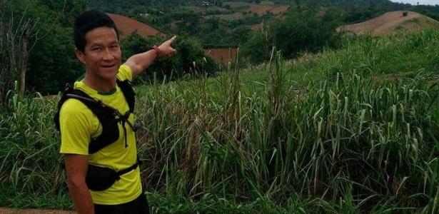Mergulhador Saman Kunan, em foto de arquivo, que morreu durante resgate de 12 garotos e treinador presos em caverna na Tailândia - Facebook