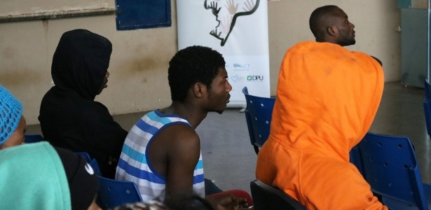 Segundo a DPU, 90% dos haitianos que chegaram a Corumbá nos últimos meses são homens - Defensoria Pública da União