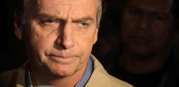 O candidato Jair Bolsonaro (PSL), criticado em editorial do NYT