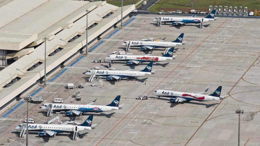 Empresa teria que construir outro pátio para aeronaves - Divulgação