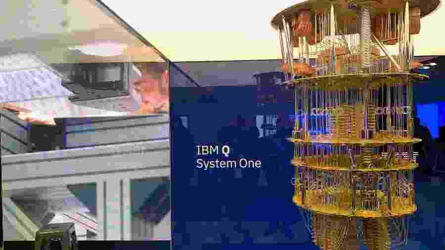 Computador quântico da IBM - Helton Simões Gomes/IBM