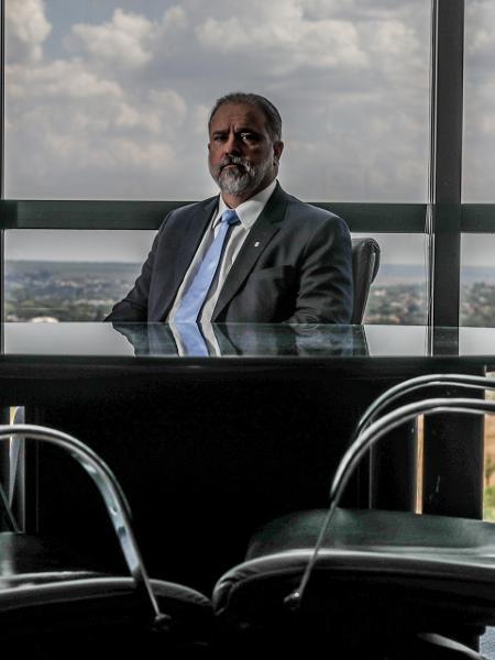 1º.out.2019 - O procurador-geral da República, Augusto Aras, em seu gabinete na PGR - Gabriela Biló - 1º.out.2019/Estadão Conteúdo