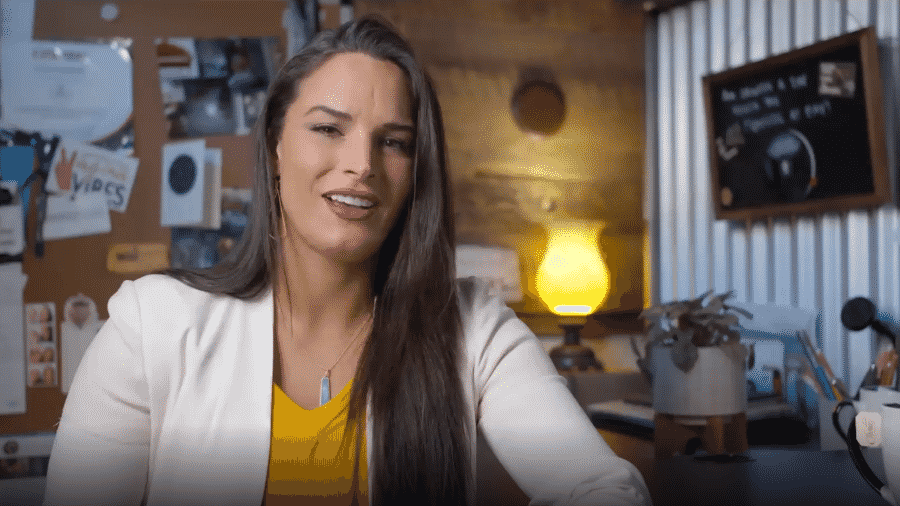 Lora Haddock, CEO da Lora Dicarlo, empresa especializada em tecnologia sexual - Reprodução/Lora Dicarlo
