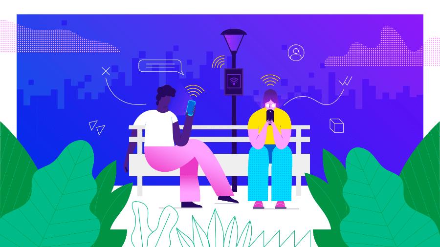 Brasil ativou 46 novos celulares com acesso 4G por minuto em 2019 - Arte UOL