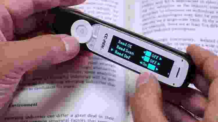C Pen Reader Scan Pen - Reprodução