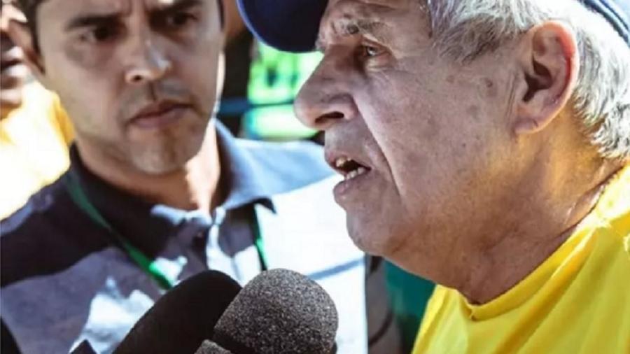 General Heleno dá entrevista em protesto contra STF e Congresso - Vinícius Santa Rosa/Metrópole