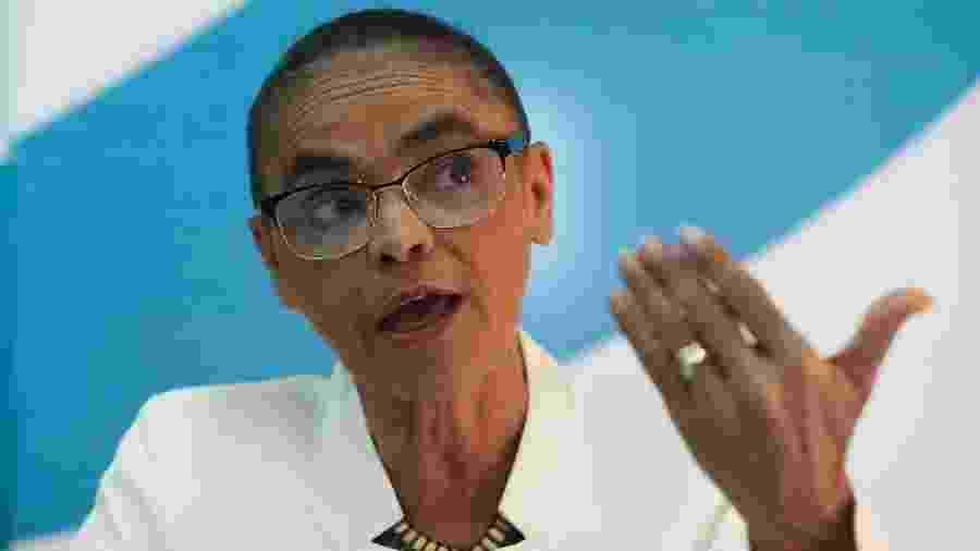 A ex-senadora Marina Silva (Rede-AC) contestou declarações recentes de Bolsonaro sobre a Amazônia - Wilson Dias/Agência Brasil