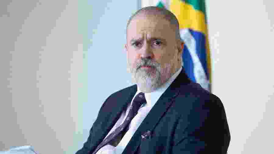 O procurador-geral da República, Augusto Aras - Antonio Augusto/Secom/PGR
