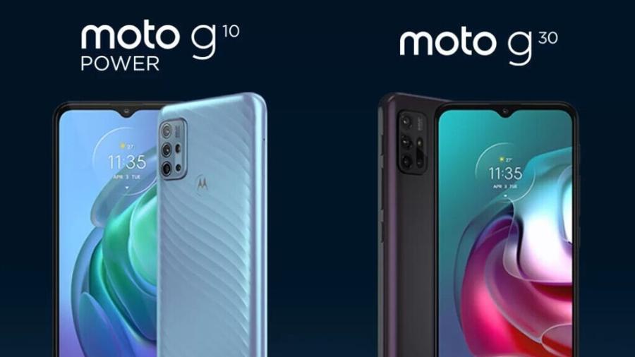 Moto G10 Power e Moto G30 foram lançados na Índia - Divulgação