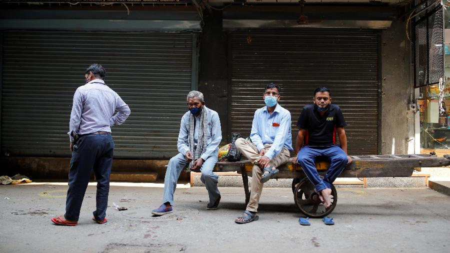 Nova Déli inicia reabertura da economia em momento de queda de novas infecções pelo novo coronavírus - Adnan Abidi/Reuters