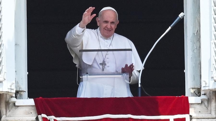 Papa Francisco deve viajar a Glasgow em novembro para participar da próxima conferência da ONU sobre a crise climática - Andreas Solaro/AFP