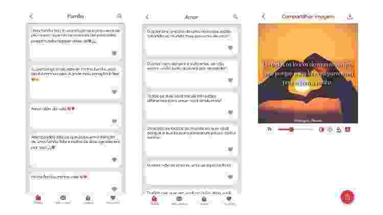 App para fazer mensagem para Dia dos Avós (iOS) 2 - Reprodução - Reprodução