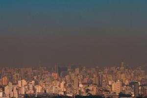 Tempo já o mais seco deste 2000 em São Paulo (Foto: Dário Oliveira/Código 19/Estadão Conteúdo )