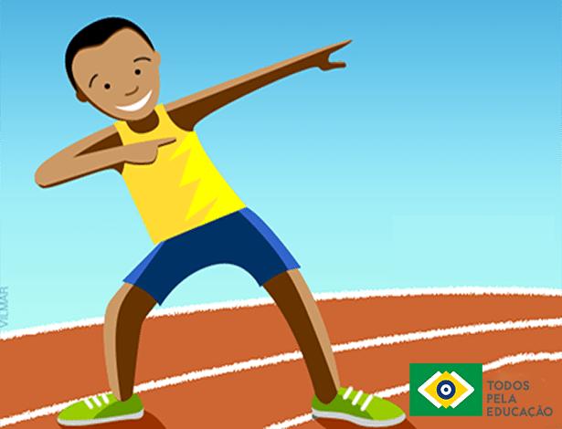 Estudo apontou diversos benefícios que a prática de atividades físicas pode trazer para a aprendizagem, entre eles, auxiliar na frequência escolar - Arte/Divulgação