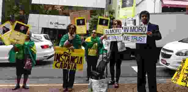 Protesto por Moro - Guilherme Azevedo/UOL - Guilherme Azevedo/UOL