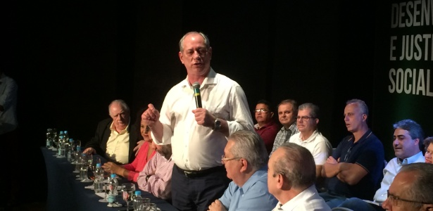 23.set.2017 - Pré-candidato à Presidência da República Ciro Gomes (PDT)