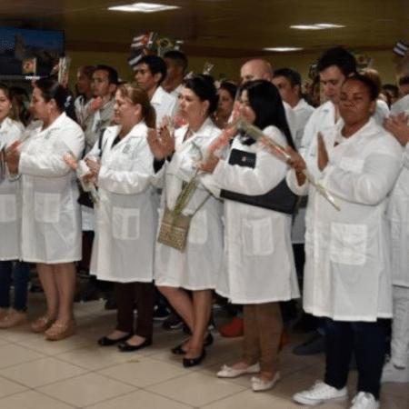Cuba fretou 20 voos para repatriar os médicos do país em cidades como Brasília, São Paulo, Manaus e Salvador - Reprodução/ Twitter