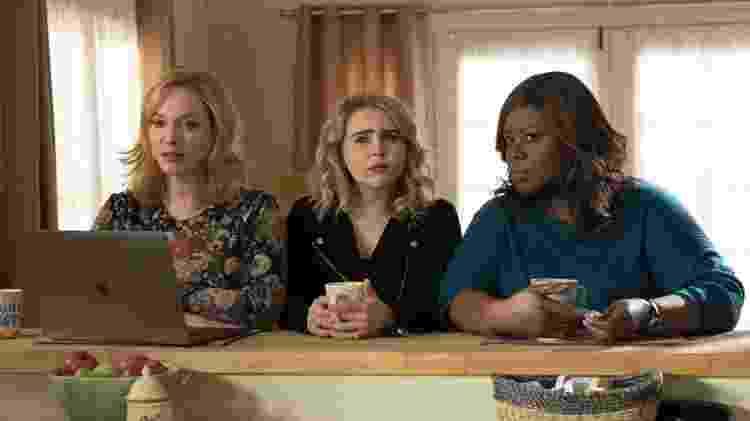 """Christina Hendricks, Mae Whitman e Retta em """"Good Girls"""" - Reprodução - Reprodução"""