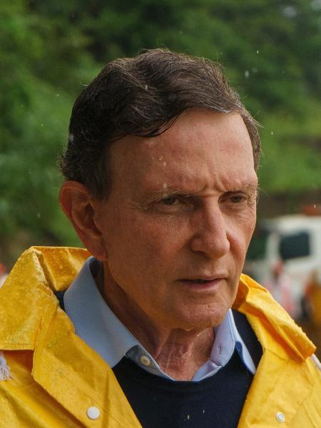O prefeito do Rio, Marcelo Crivella (PRB) - Roberto Herrera/Estadão Conteúdo