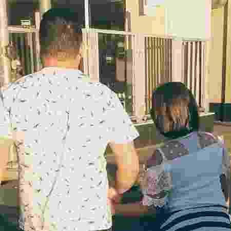 Menina de 8 anos que viu Rhuan ser esquartejado volta a morar com o pai - Arquivo pessoal