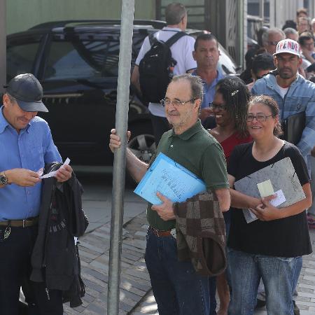 Feira do Emprego gera filas em São Bernardo do Campo (SP) - Rivaldo Gomes/Folhapress
