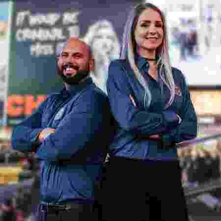 Os empresários Diogo Petri e Agnes Cristina - Arquivo pessoal