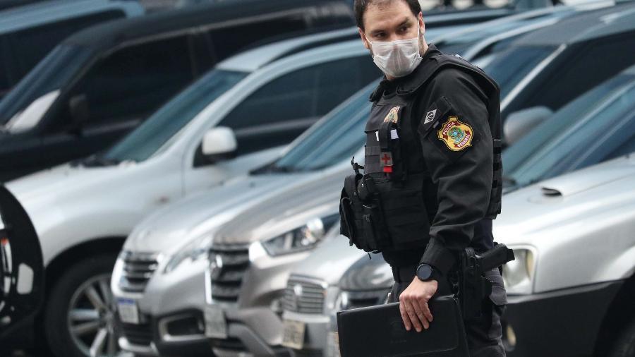 14.mai.2020 - Operação Favorito foi deflagrada pela PF no Rio, que investiga suspeita de fraude na área da saúde - DIKRAN JUNIOR/FUTURA PRESS/FUTURA PRESS/ESTADÃO CONTEÚDO