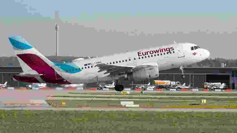 Avião da Eurowings levanta voo - Getty Images