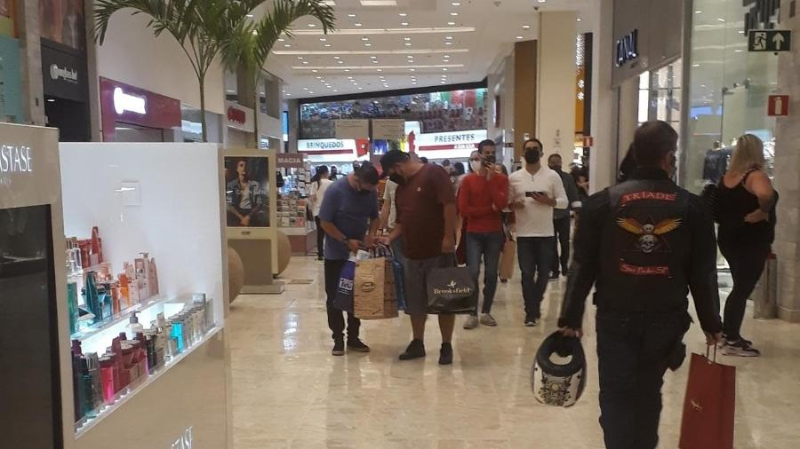 Alshop teme alta no desemprego com fase vermelha em SP e cobra Doria - Marcelo Oliveira/UOL