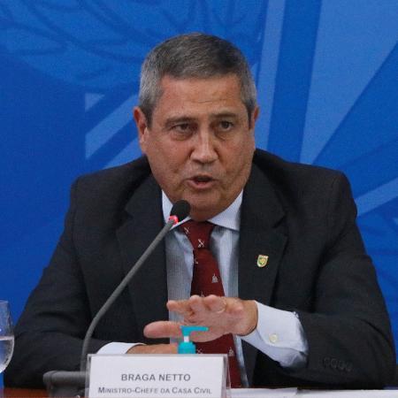 O ministro-chefe da Casa Civil, general Walter Braga Netto - Frederico Brasil/Futura Press/Estadão Conteúdo