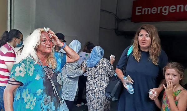 Fotos: Forte explosão atinge Beirute, no Líbano, e deixa pessoas ...