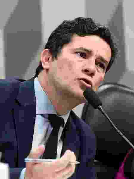 O ex-ministro da Justiça, Sergio Moro, defende que pacote anticrime seja revisado pelo STF ou pelo Congresso Nacional - Marcos Oliveira/Agência Senado
