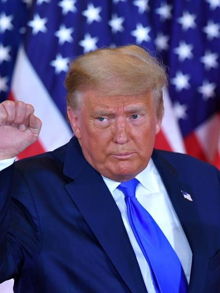 Presidente dos Estados Unidos, Donald Trump, na Casa Branca - Mandel Ngan/AFP