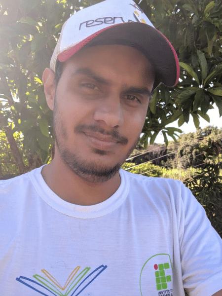 Danilo Xavier, de 30 anos, morreu após descarga elétrica; segundo mulher do estudante, não chovia no momento do acidente - Reprodução/Arquivo Pessoal