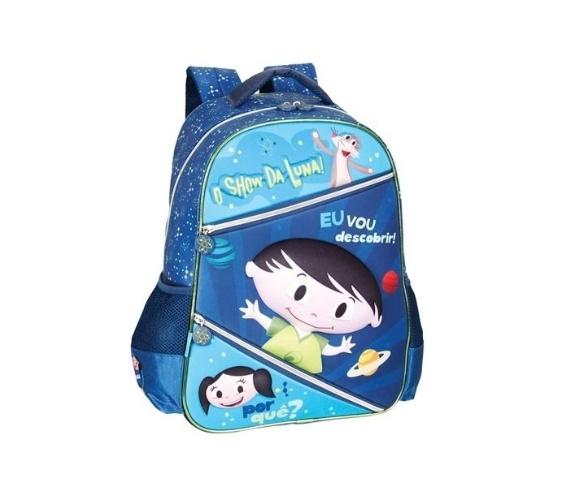 A marca Pacific lançou mochilas, estojos e lancheiras com imagens do desenho. A mochila Júpiter Space, azul, é vendida por R$ 149 no site do Extra