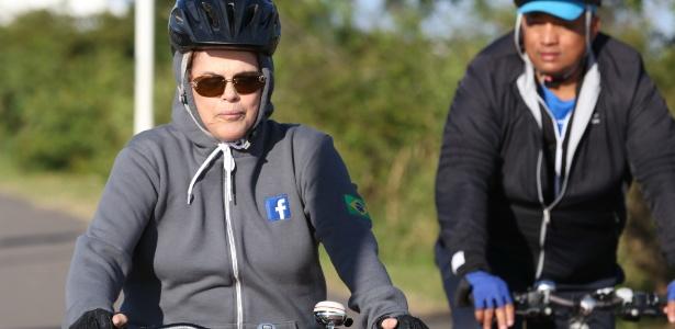 Dilma chegou à cidade na noite de quinta depois de passar o dia no Rio de Janeiro