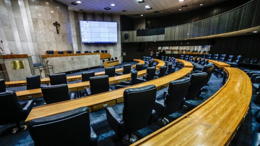 Plenário da Câmara Municipal dos Vereadores de São Paulo (SP) - Lucas Lima/UOL