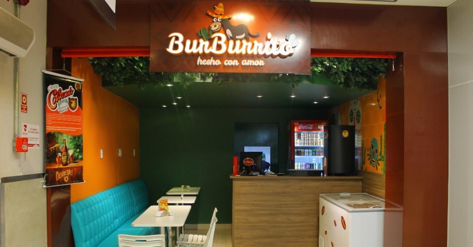 Loja da franquia  BurBurrito