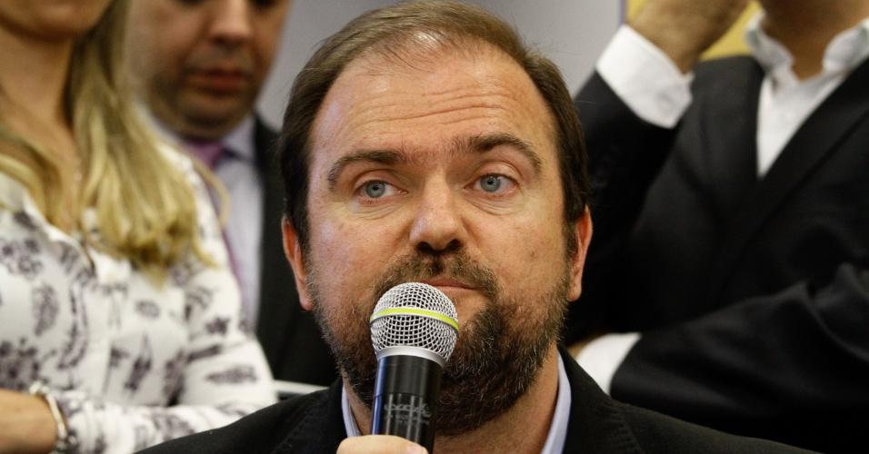 10.nov.2016 - Daniel Annemberg é anunciado futuro secretário municipal de Tecnologia e Inovação de São Paulo. O anúncio, o segundo com nomes do futuro secretariado, foi feito pelo prefeito eleito João Doria Júnior (PSDB)
