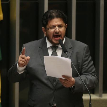 13.jul.2016 - Deputado Fábio Ramalho (MDB-MG) discursa no plenário da Câmara - ANDRÉ DUSEK/ESTADÃO CONTEÚDO