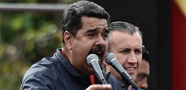 O presidente venezuelano, Nicolás Maduro, tem enfrentado uma série de protestos