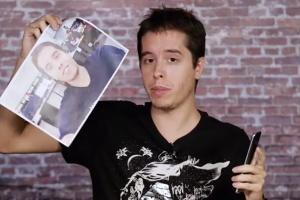 Dá para desbloquear o S8 usando foto? UOL testou o reconhecimento facial (Foto: Reprodução)
