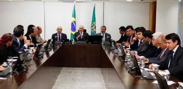 Temer se reúne com ministros antes de viajar para a reunião do G20