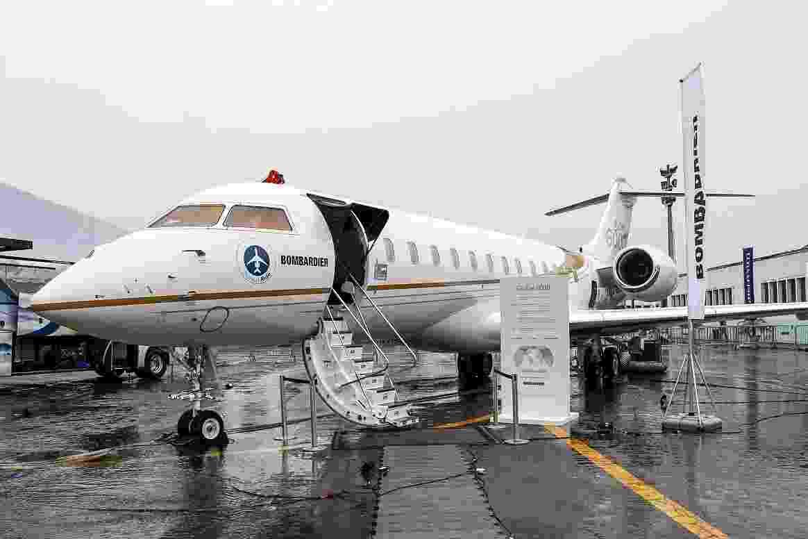 O Bombardier Global 6000 está avaliado em US$ 62,5 milhões (R$ 190 milhões). O jatinho pode levar até 17 passageiros com autonomia para voar sem escala de São Paulo até Berlim, Atenas ou Jerusalém. O avião voa a uma velocidade máxima de 1.090 km/h - Marcelo Pereira/UOL