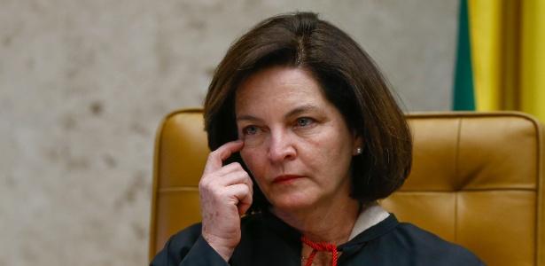 A nova procuradora-geral, Raquel Dodge, participa de sessão do STF - Pedro Ladeira/Folhapress