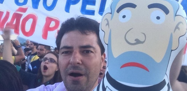 Sachsida participou de manifestações anti-governo em 2015 e em 2016
