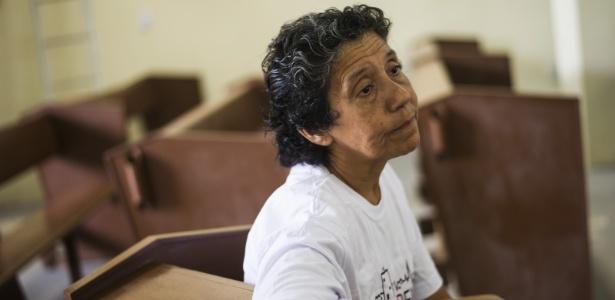 Maria da Penha Macena, moradora da Vila Autódromo, virou símbolo no Rio
