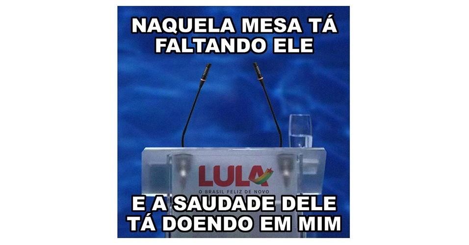 Meme Lula debate RedeTV!