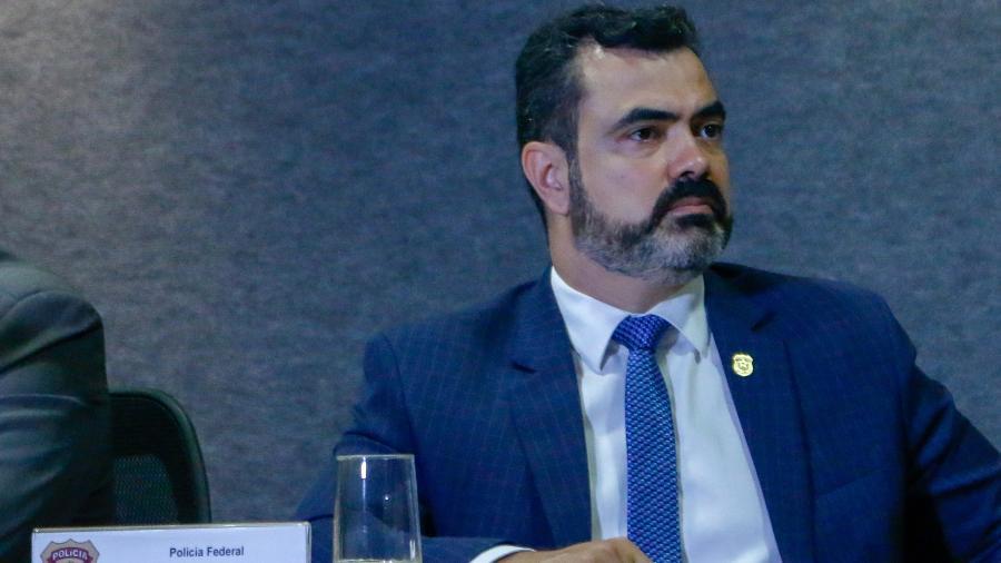 O superintendente da Polícia Federal no Paraná, delegado Luciano Flores - Eduardo Matysiak/Estadão Conteúdo